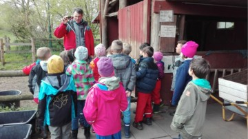Besuch auf dem  Jugend-Naturschutz-Hof Ringstedtenhof (Landwege e.V.)